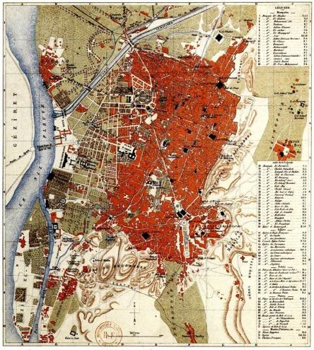 1888 - cairo Map