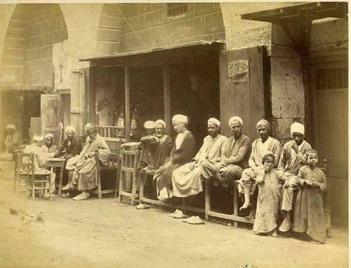 نتيجة بحث الصور عن مقاهي القاهرة زمان