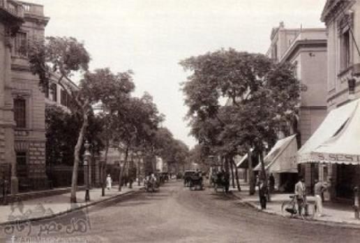 شارع قصر النيل في القاهرة عام 1867 م