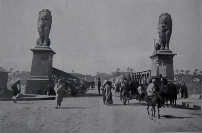 كوبري قصر النيل أحد معالم المشروع - باسكال سيباه